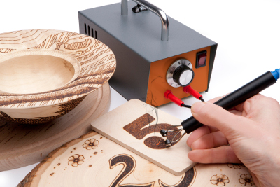Peter Child Pyrography Machine