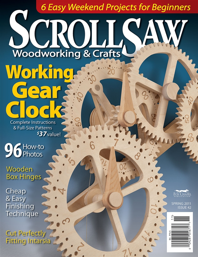 Scroll saw woodworking and crafts.