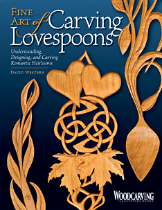Carving lovespoons